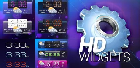 HD Widgets 3.7.7 (RUS/Android 2.2+)