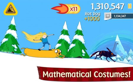 Ski Safari: Adventure Time v1.0.1 [Mod Money]