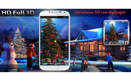 Новый год 3D / Christmas 3D Live Wallpaper